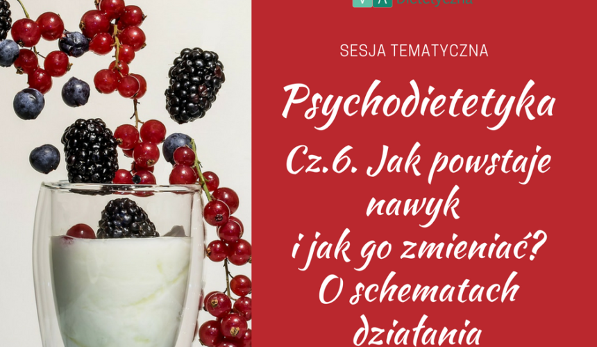 Psychodietetyka – Schematy działania – jak powstaje nawyk i jak go zmieniać?